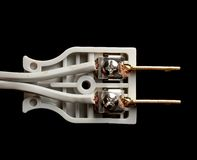 Prise électrique intérieure Image stock