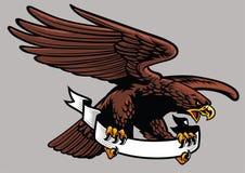 Prise d'Eagle le ruban Photos stock