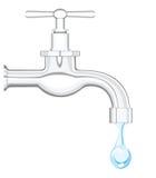 Prise d'eau Image stock