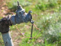 Prise d'eau images stock