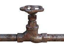Prise d'eau rouillée Image libre de droits