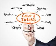 Prise de calorie photographie stock
