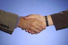 Prise de contact 2 photos libres de droits