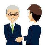 Prise de contact de vendeur illustration stock