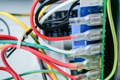 Prise de fil pour le matériel électrique Image libre de droits