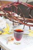 Prise de la communion Photos stock