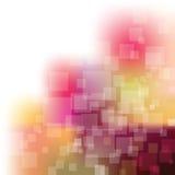 Prise de masse arrière colorée transparente abstraite Images stock