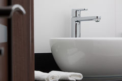 Prise de salle de bains Photo libre de droits