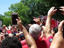 Prise des photos de Washington Capitals Victory Parade Photos libres de droits