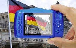 Prise du parlement de Reichstag de photo construisant Berlin Germany photos libres de droits