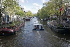 Prisengracht canal Stock Image