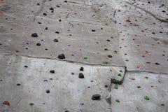 Prises s'élevantes artificielles de mur photo libre de droits