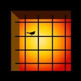 Prisión stock de ilustración