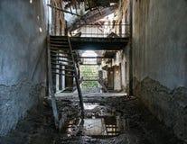 Prisión abandonada Foto de archivo libre de regalías