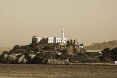 Prisión de Alcatraz Imágenes de archivo libres de regalías