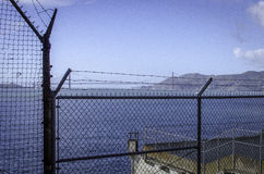 PRISIÓN DE ALCATRAZ, SAN FRANCISCO CALIFORNIA imagenes de archivo
