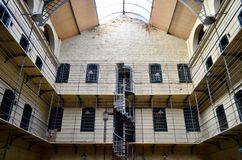 Prisión de la cárcel de Kilmainham Dublín, Irlanda Imágenes de archivo libres de regalías