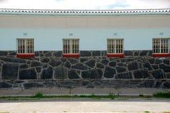 Prisión de la isla de Robben en Suráfrica fotografía de archivo libre de regalías