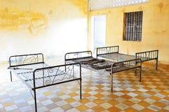 Prisión de Tuol Sleng (S21), Phnom Penh Foto de archivo libre de regalías