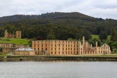 Prisión vieja en el Port Arthur, Tasmania, Australia Fotografía de archivo