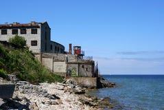Prisión y mar Imagen de archivo