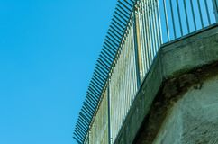 Prision Fence Wire Royalty Free Stock Image