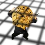 Prisioneiro do tempo Imagens de Stock Royalty Free