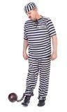 Prisioneiro insatisfeito Imagem de Stock