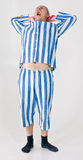 Prisioneiro ou traje criminoso Fotografia de Stock Royalty Free