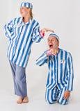 Prisioneiros loucos Fotos de Stock Royalty Free