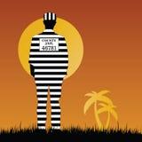 Prisioner in der Naturkunstillustration Stockbilder