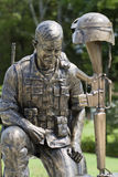 PRISIONERO DE GUERRA MIA Purple Heart Soldier Memorial Imagen de archivo libre de regalías