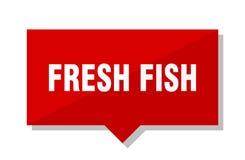 Prislapp för ny fisk Fotografering för Bildbyråer