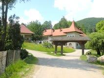Prislop Orthodox Monastery in Hunedoara, Romania Stock Photography