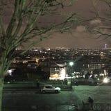 Prismáticos de París View Foto de archivo libre de regalías