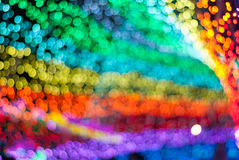 Prism Color Abstract. Abstract of light reflection of prism in rainbow of colors stock photography