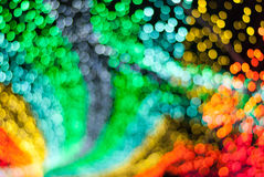 Prism Color Abstract. Abstract of light reflection of prism in rainbow of colors royalty free stock photo