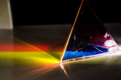 Prism and colours Royalty Free Stock Photography