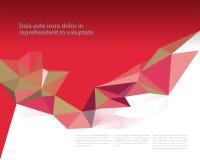 Prism design template stock illustration