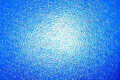 Prism frosted glass background. Prism frosted blue glass background suggesting a moody, spooky atmosphere royalty free stock image