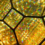 Light refraction details royalty free stock images