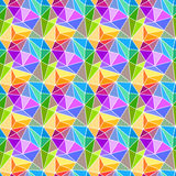 Prism triangles geometric background. Abstract 3d background made from prismatic triangles and trapezoid shapes Royalty Free Stock Photos