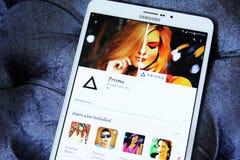 Prisma-Bildeditor-APP Lizenzfreie Stockfotos