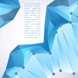 Prisma di Cristal Illustrazione di vettore per la vostra presentazione di affari Fotografia Stock