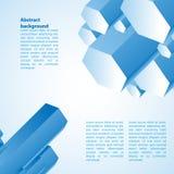Prisma di Cristal Illustrazione di vettore per la vostra presentazione di affari Fotografia Stock Libera da Diritti