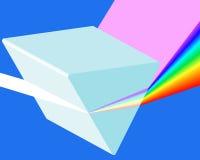 Prisma do espectro ilustração royalty free