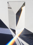 Prisma en spectrum Royalty-vrije Stock Fotografie