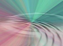 Prisma-Wasser-Kräuselung Stockfoto