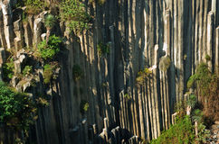 Prismas basálticos de Santa Maria Regla méxico fotos de stock