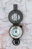 Prismatic Compass Stock Image